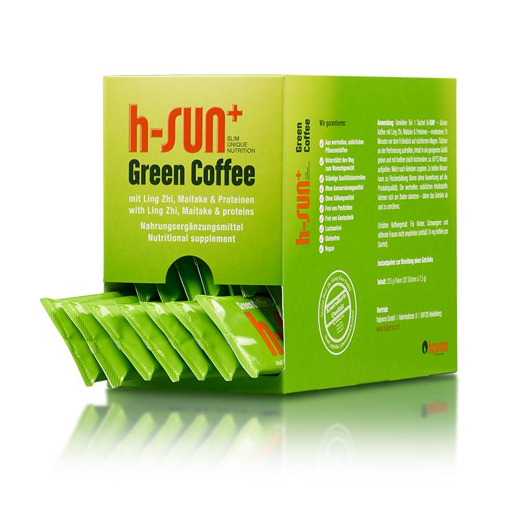 hajoona h-SUN+ Grüner Kaffee