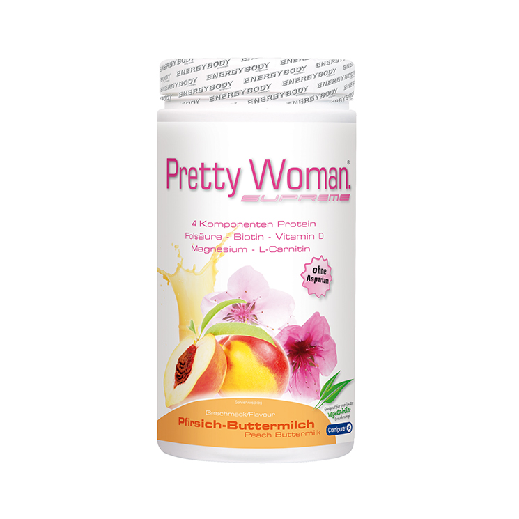 Pretty Woman Proteinshake Pfirsich-Buttermilch